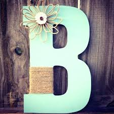 wood letter decoration flowers and twine wooden letters for home decoration initial crafts flowers we all