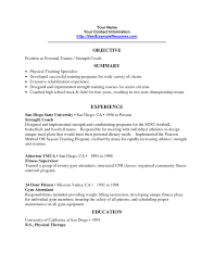 Professional Strengths Resume Personal Trainer Cv Sample Letter To Client Professional