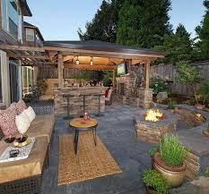 outdoor room ideas backyard patio