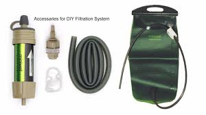 survival water purifier. Miniwell Survival Water Filtration And Purification Kit/ DIY Purifier U