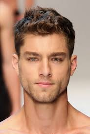short curly hairstyle for men 2017