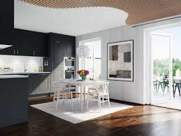 Modern Black Kitchen Cabinets Furniture Dazzling Black Kitchen Cabinets Decoration Ideas