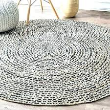 round jute rug 6 black circular cotton causal natural fiber and 6x9 f round jute rug