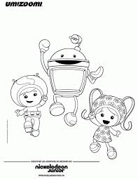 Small Picture Team Umizoomi Coloring Pages Logo Coloring Coloring Pages