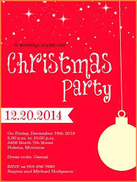 15 Holiday Party Invitation Wording Sample Paystub