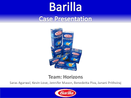 barilla supply chain