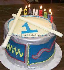Coolest Childrens Birthday Cake Ideas And Drum Cake Designs