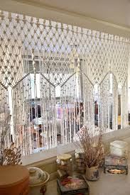 Новости macrame curtain room divider