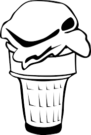 ice cream clipart black and white.  Clipart Clip Art Library Collection Of High Quality Cone Royalty Free Stock Ice  Cream Shop Clipart Black And White In Cream Clipart Black And White E