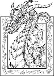 Coloring Pages Dragons And Knights Free Dragon Printable Coloring ...