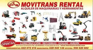 Alquiler De Herramientas Para La Construcción En SevillaAlquiler De Maquinaria En Sevilla