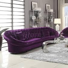purple chesterfield sofa purple sectional couch purple sofa