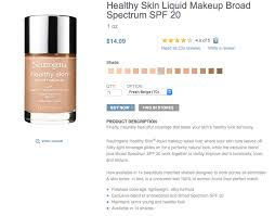 Neutrogena Healthy Skin Liquid Makeup Color Match Saubhaya