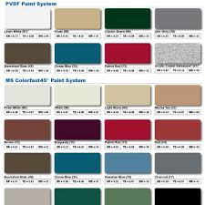 Mueller Metal Buildings Color Chart 33 Most Popular Nucor Buildings Color Chart