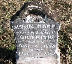 GRIFFITH, JOHN ROSS - Carroll County, Arkansas | JOHN ROSS GRIFFITH -  Arkansas Gravestone Photos