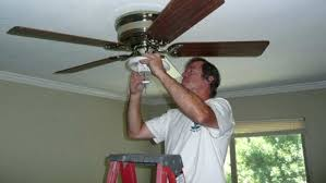 replacing a ceiling fan homeowners with a lot of experience may be able to install a replacing a ceiling fan