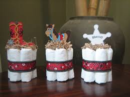 Cowboy Themed Baby Shower Centerpieces