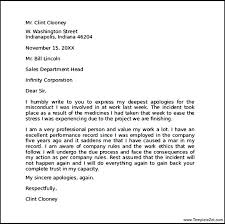 Apology Letter To Boss Impressive Apology Letter To Ceo Undertaking Yeslogicsco