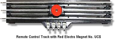 lionel trains ucs uncoupling control track section lionel trains remote control red magnetic section
