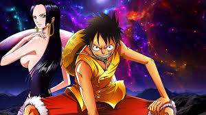 Search free boa hancock wallpapers on zedge and personalize your phone to suit you. Monkey D Luffy And Boa Hancock Wallpaper 2 By Drumsweiss On Deviantart
