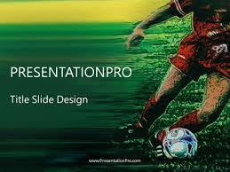 Soccer Powerpoint Template Background In Sports And Leisure