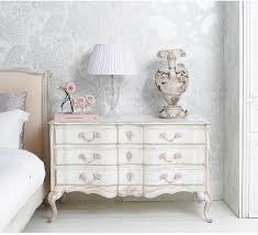 delphine white shabby chic chest of drawers french style chic shabby french style distressed white