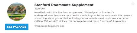 successful stanford roommate essay intros admitsee our premium plans offer different levels of profile access and data insights that can help you get into your dream school unlock any of our packages or