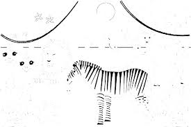 Safari Animals Template Safari Coloring Page Fincaraizvillavicencio Co