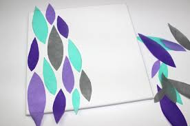 Diy Canvas Art Diy Canvas Art A Little Craft In Your Day