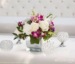 Wedding Reception Arrangements For Tables Short Wedding Reception Centerpieces Archives Weddings Romantique