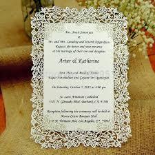 Laser Cut Rose Vine Wedding Invitation Card Invitation Card Insert