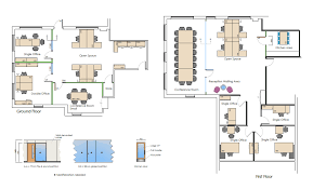 office space floor plan. Space Planning Office Floor Plan