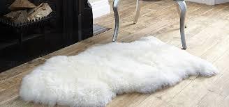 bowron sheepskin rug