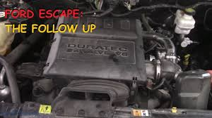 2005 Ford Escape Battery Light Ford Escape Engine Light Battery Light On The Follow Up