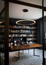 stylish home office. Cool Stylish Home Office With A Library 900x1265 Most Fashionable Offices For Telecommuters