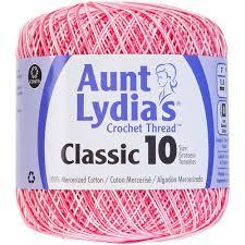 Aunt Lydias Crochet Cotton