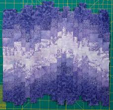 Bargello Quilt Patterns Delectable How To Make A Bargello From A Fabric Strip Run Quilts By Jen