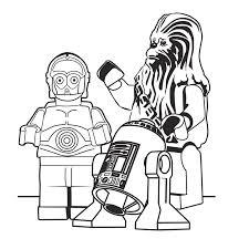 Leuk Voor Kids Kleurplaat Lego Star Wars Spalvinimas Lego