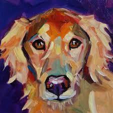 elizabeth fraser sophie dog portrait