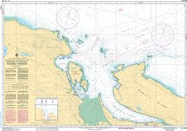Chs Nautical Chart Chs3458 Approaches To Approches A Nanaimo Harbour