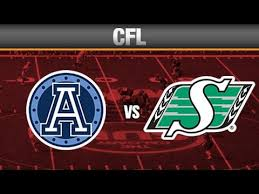 Image result for toronto argonauts vs saskatchewan roughriders