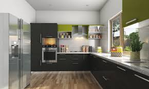 Modular Kitchen Designs India Buy Harmony L Shaped Modular Kitchen Online In India Livspacecom