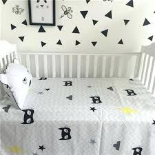 cute baby bedding fashion newborn baby bed sheets black white crib quilt infant baby bedding cotton cute baby bedding