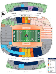 Auburn Seating Chart With Rows 69 Paradigmatic Tiger Stadium Seating Chart With Rows