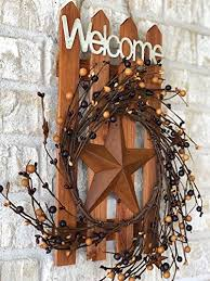 d i inc welcome wood metal star 3d