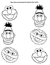 Sesame Street Printable Coloring Pages Drawing Pa Telematik