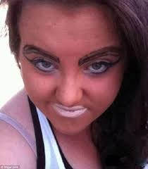 worst makeup fails ever you will see these and bee shocked are these eyebrows stuck on or pencilled in it s hard to tell but wver