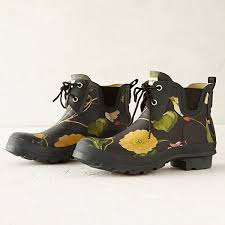 garden boots. Hunter Floral Garden Boots, Low Boots