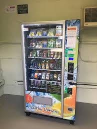 How To Open A Vending Machine Adorable Garrett Mountain Reservation Snack Shack Offers Healthy Vending