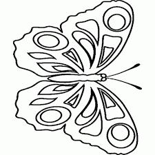 Beste Vlinder Kleurplaat Simpel Kleurplaat 2019